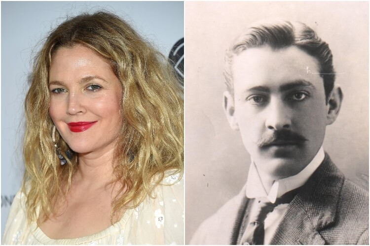 Drew Barrymore and John Barrymore