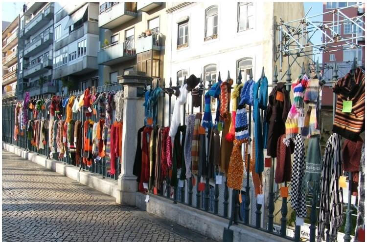 Scarf Bombing Campaign