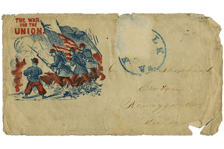 Mystery Letter Civil War Letters