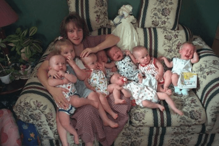 World's First Surviving Septuplets