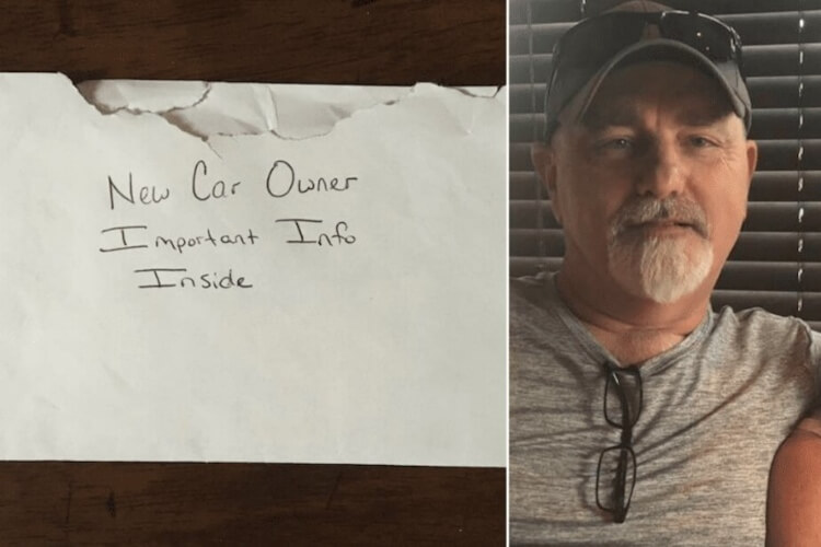Dad Finds Letter In Daughter's Used Car