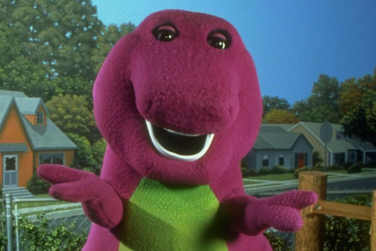 New Barney Get Out