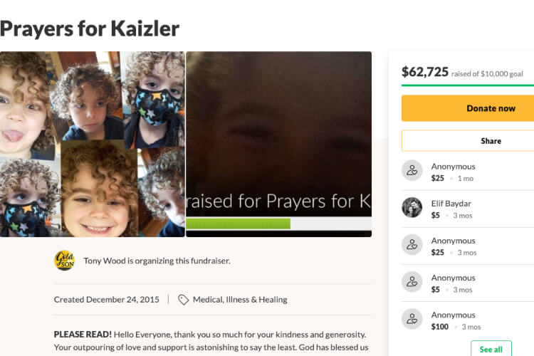Mandi Miller Tony Wood Prayers for Kaizler
