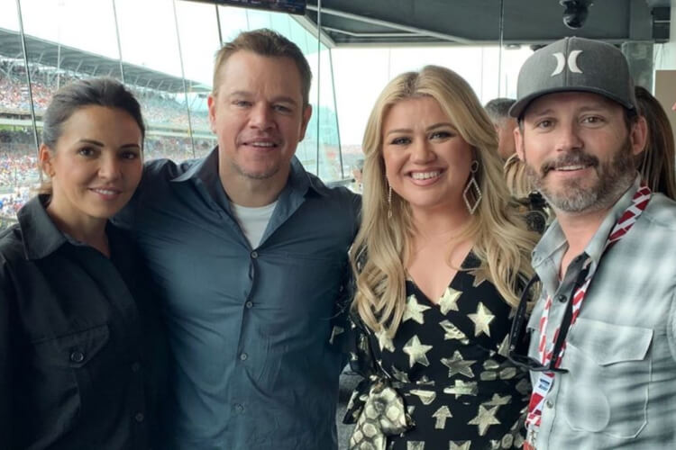 Kelly Clarkson Indy 500