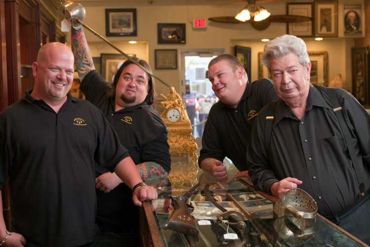 Reality Shows Secrets Pawn Stars