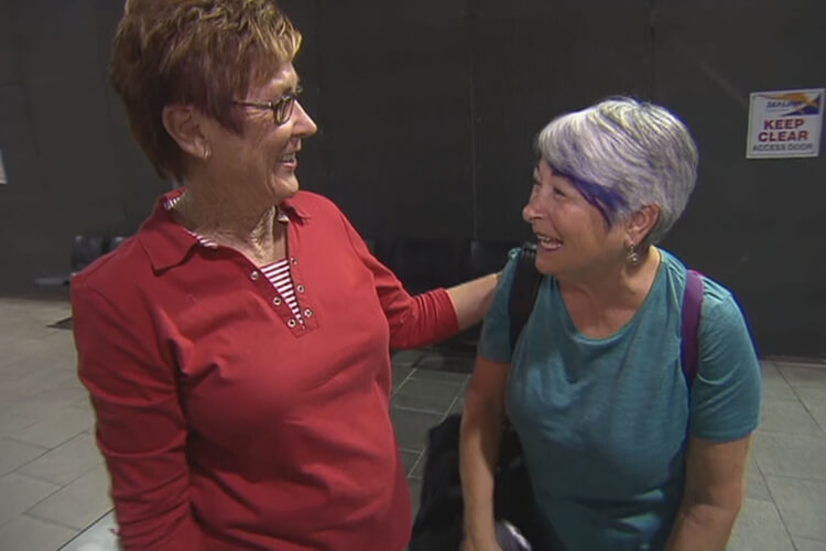 Pen Pals Meet After 60 Years