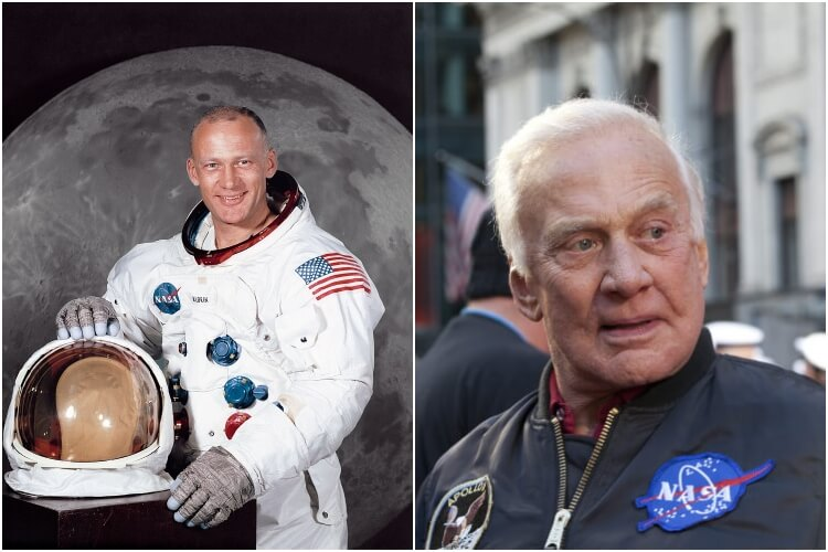 Buzz Aldrin Today