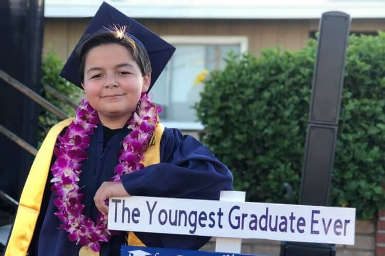 13-Year-Old College Graduate