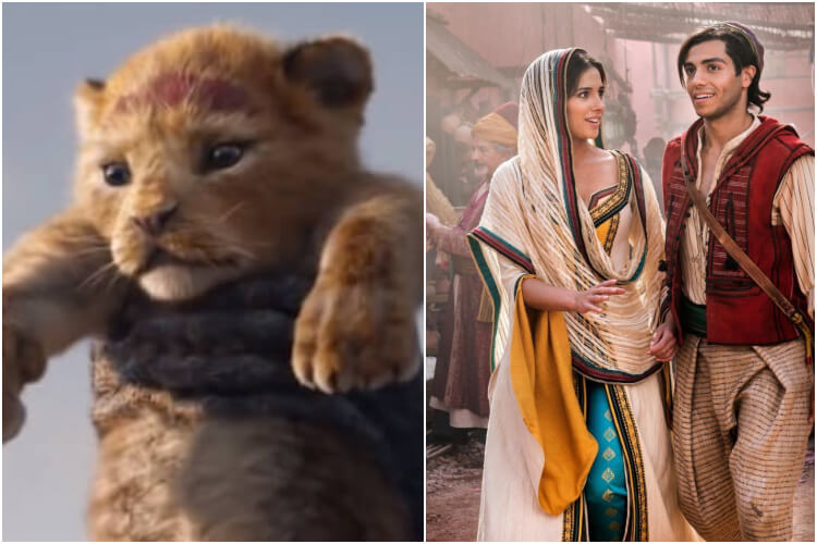Most Anticipated Movies 2019 Aladdin Lion King