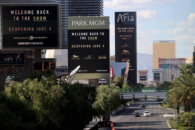 Here's What A Re-Opened Las Vegas Will Look Like Amid Coronavirus - 0