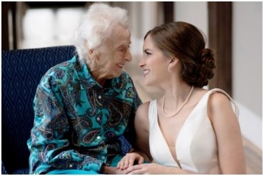 Grandma Wedding Surprise
