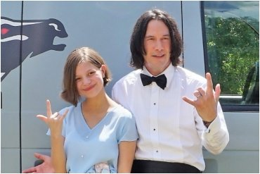 Keanu Reeves Robert Englund Make-A-Wish Foundation
