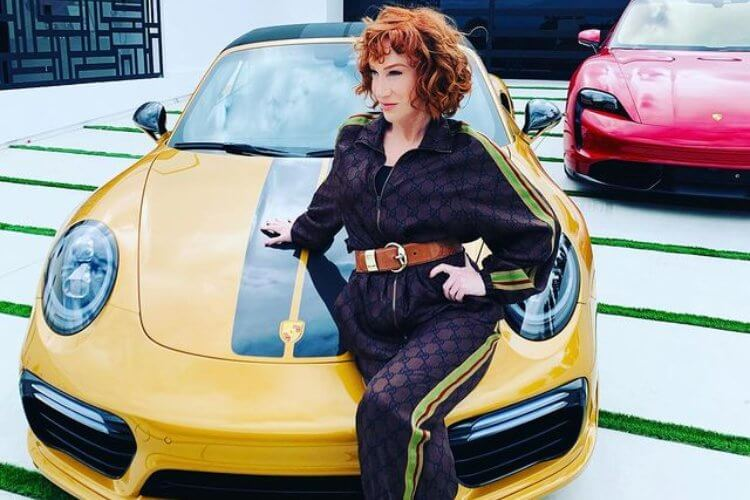 Comic Kathy Griffin Undergoing Lung Cancer Treatment - 1