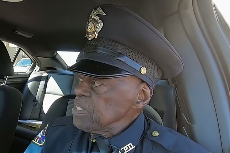 91-Year-Old Police Officer