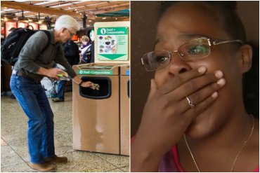 Woman Finds Mysterious Package At Airport