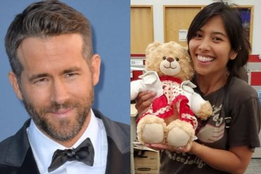 Ryan Reynolds Teddy Bear Reward
