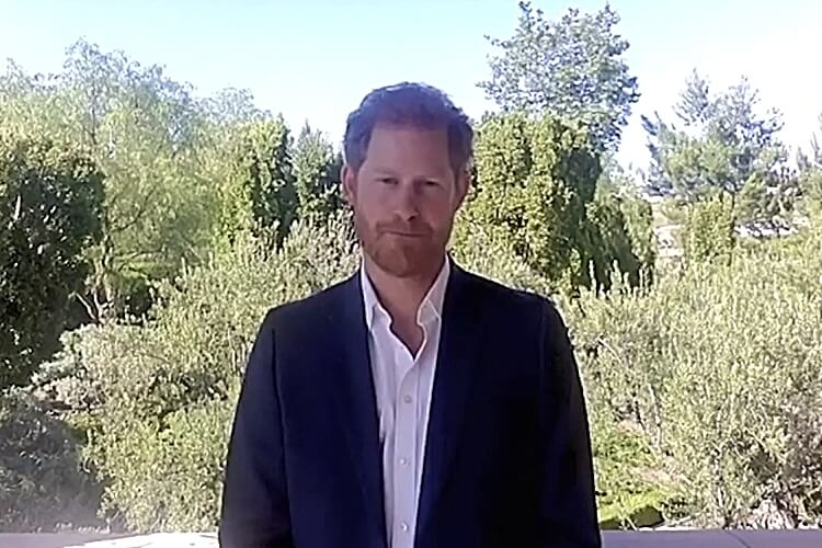 Prince Harry AIDS Conference 2020