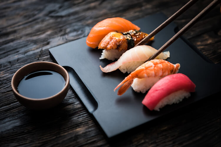Crazy Viral Sushi Promotions
