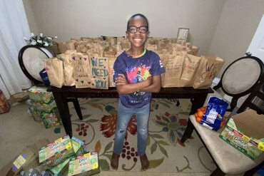 5th Grader Preparing 100k Thanksgiving Meals For People In Need