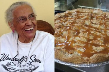 103-Year-Old Pie Shop Mary Woodruff