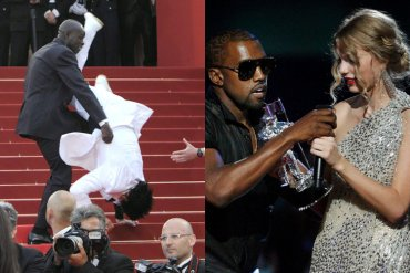 Celebrity Red Carpet Mishaps