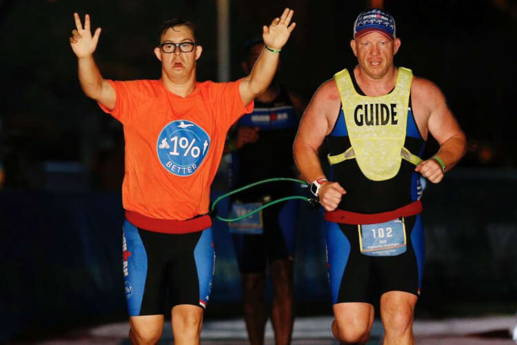 1st Ironman Triathlon Finisher With Down Syndrome