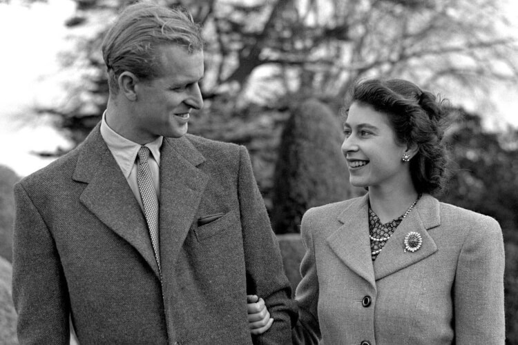 Queen Elizabeth II and Prince Philip Celebrate